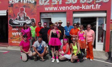 Samedi 24 Juin… Les Z'amours au Vendée Kart ! Tous nos vœux de bonhe…