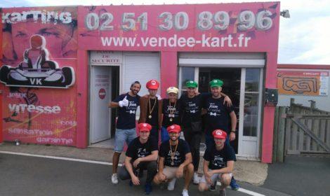 Samedi 14 Septembre EVG au Vendée Kart Un grand merci au team des mari…